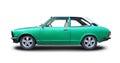 Toyota Corolla 1978 coupe. Royalty Free Stock Photo