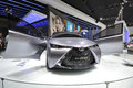 Toyota FT-HT gas-electric hybrid concept car Royalty Free Stock Photo