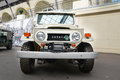 Toyota land cruiser serie exhibited at the retro motor show in vdnkh Stock Image