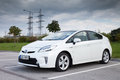 Toyota prius tallinn estonia sept hybrid car model year is one of the leading manufacturers of hybrid technology cars in Stock Photo