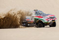 Toyota at the Rally Dakar 2013 Stock Photo
