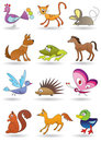 Toys with animals for kids Royalty Free Stock Photos