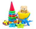 Toys collection Royalty Free Stock Photos