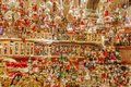 Toys and decorations on the Christmas market, Germany Royalty Free Stock Photo