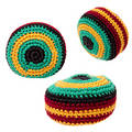 Toys: Hacky Sack or Footbag Trio Royalty Free Stock Photo