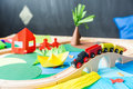 Toys in the kindergarden Royalty Free Stock Photo
