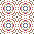 Toys pattern seamless made of illustrated Royalty Free Stock Images
