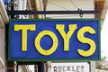 Title: Toys Sign