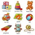 Toys Royalty Free Stock Photo