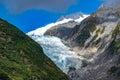 Track at Franz Josef Glacier, New Zealand Royalty Free Stock Photo