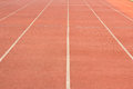 Track in the stadium at mae fah luang university Stock Photography