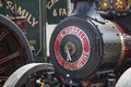 Traction wadebridge cornwall uk june old fashioned steam powered engine Royalty Free Stock Photos