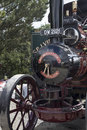 Traction wadebridge cornwall uk june old fashioned steam powered engine Stock Photo