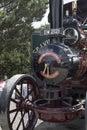 Traction wadebridge cornwall uk june old fashioned steam powered engine Stock Photo