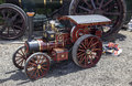 Traction wadebridge cornwall uk june old fashioned steam powered engine Stock Images