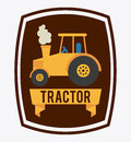Tractor design graphic illustration Stock Image