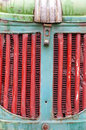 Tractor grille old detail vehicle Stock Images