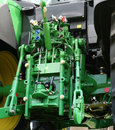 Tractor hydraulics Royalty Free Stock Photo