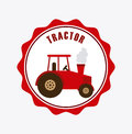 Tractor icon design vector illustration eps graphic Royalty Free Stock Photos