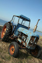 Tractor sea Royalty Free Stock Photos