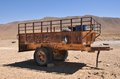 Tractor trailer october before the war in life syria Stock Photography