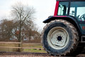 Tractor wheel Royalty Free Stock Photography