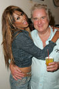Tracy bingham clement von franckenstein traci bingham and at champagne and bikinis hosted by geoff thomas designs and featuring Stock Photo