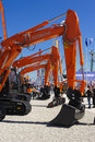 Trade fair for building machines munich germany april the world biggest titled bauma takes place with exhibitors from nations from Royalty Free Stock Image