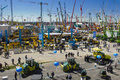 Trade fair for building machines munich germany april the world biggest titled bauma takes place with exhibitors from nations from Royalty Free Stock Photos