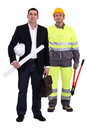 Tradesman and engineer Stock Photography