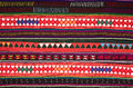 Tradition handwork fabric hill tribe northern thailand Stock Photos