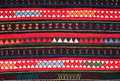 Tradition handwork fabric hill tribe northern thailand Stock Photo