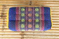 Tradition native Thai style pillow pattern Royalty Free Stock Photo