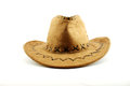 Traditiona cowboy hat front view of a traditional men s accessory of the american west Stock Image