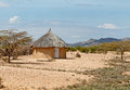 Traditional african huts Royalty Free Stock Photo