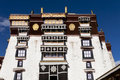 Traditional ancient building in Tibet Royalty Free Stock Photo