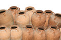 Traditional ancient greek amphora Royalty Free Stock Photos