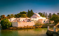 Traditional Arabic house in Tunisia Royalty Free Stock Photo