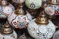 Traditional Arabic lamps Royalty Free Stock Photo