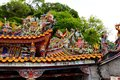 Traditional architecture of ancient chinese temple