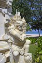 Traditional architecture in bali indonesia beach nusa dua Stock Photography