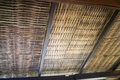 Traditional Architecture Of Bamboo Roof Royalty Free Stock Photo