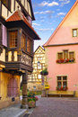 Traditional architecture of Turckheim Royalty Free Stock Photo