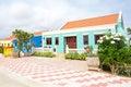 Traditional arubean house on Aruba island Royalty Free Stock Photo