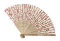 Traditional asian fan Royalty Free Stock Photo
