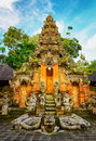 Traditional balinese architecture bali island indonesia Royalty Free Stock Photo