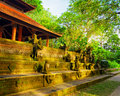 Traditional balinese architecture bali island indonesia Royalty Free Stock Photos