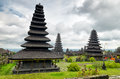 Traditional balinese architecture the pura besakih temple Royalty Free Stock Image