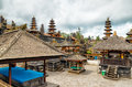 Traditional balinese architecture the pura besakih temple Stock Photo