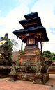 Traditional balinese temple - Pura Beji. Stock Image